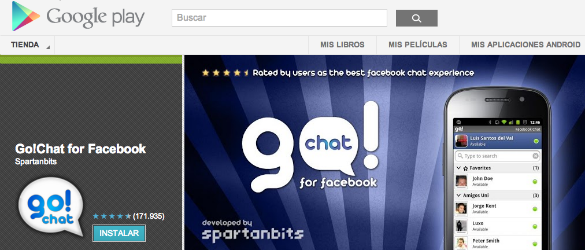 Go!Chat for Facebook un sorprendente caso de éxito