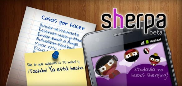 Sherpa, el asistente personal de voz para Android