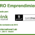 Foro de emprendimiento organizado por Cink Emprende y Madrid Emprende