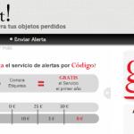 goAlert!, tecnología española al rescate de los objetos perdidos