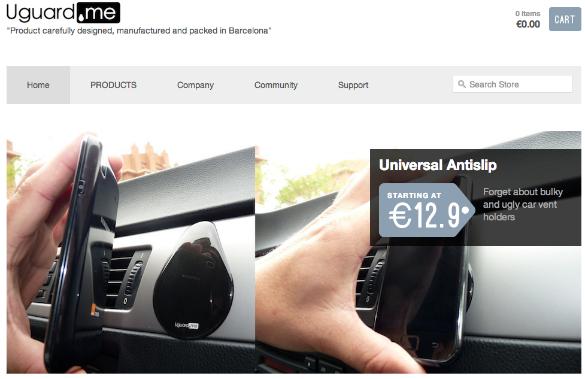 Uguard.me innovando en materiales para gadgets