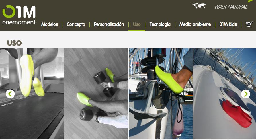 01M un calzado innovador