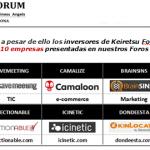 Keiretsu Forum inversiones 2012
