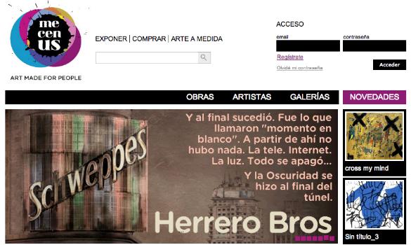 Mecenus nuevo mercado de arte online participado por Idodi Labs