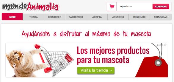 Mundoanimalia crea su propia tienda de productos para mascotas