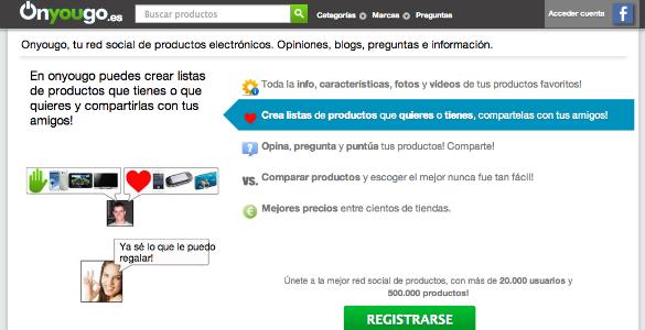 Onyougo recomendaciones y comparativa de productos de electrónica