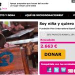 Microdonaciones.net consigue financiación para 11 proyectos solidarios