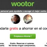 Wootor te ayuda a elegir coche de alquiler