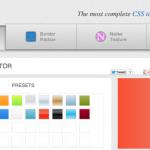 CSSmatic quiere hacer más fácil la vida de los diseñadores y desarrolladores web