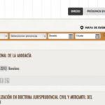 Agenda online de eventos jurídicos
