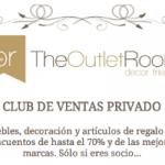 The Outlet Room club privado de venta de muebles y decoración