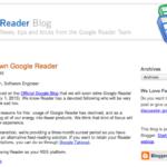 El cierre de Google Reader