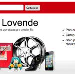 Lovende, una nueva web de subastas online