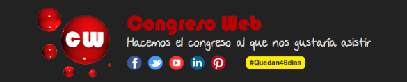 Congreso Web se celebra en junio en Zaragoza