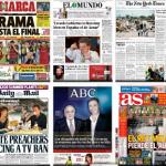 Cover Times nos enseña las portadas de la prensa mundial