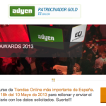 Presenta tu tienda online al Ecommerce Awards Spain 2013