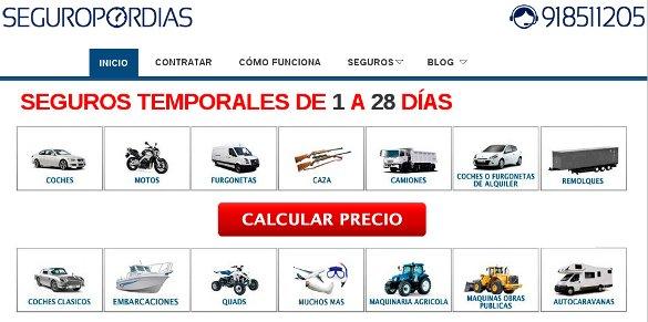 Seguropordias.com, una nueva forma de ofrecer seguros