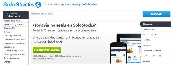 1,5 millones de euros de inversión en SoloStocks