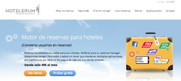 500.000 euros de inversión en Hotelerum