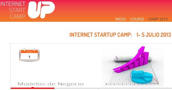 Internet Startup Camp 2013, 5 días de aprendizaje para tu startup