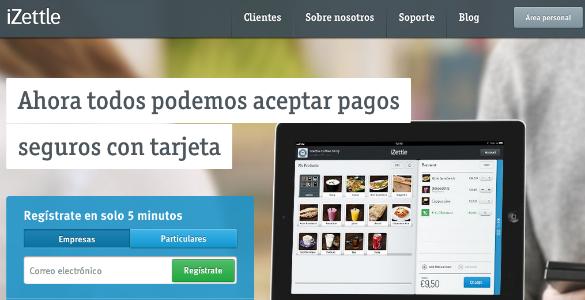 Banco Santander invierte 5 millones de euros en la empresa de pagos con móvil iZettle