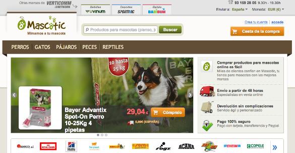Verticomm Network lanza Mascotic un marketplace de productos para mascotas