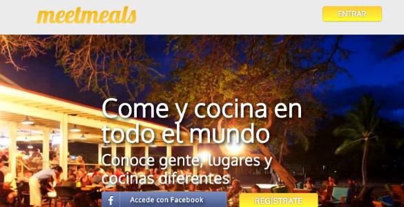 Meetmeals, consumo colaborativo y gastronomía