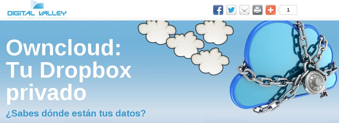 Owncloud, tu Dropbox privado