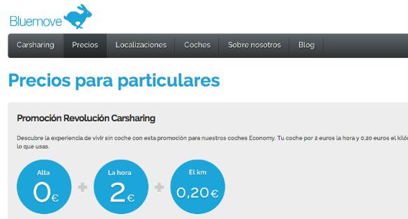 Creas Fondo Social invierte en Bluemove 150.000 euros para desarrollar el carsharing