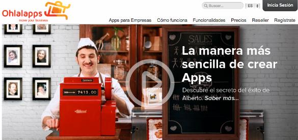 300.000 euros de inversión en el creador de aplicaciones para móviles Ohlalapps