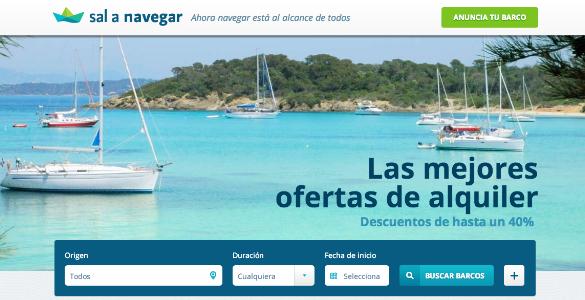 Sal a Navegar, fomenta el alquiler de barcos entre particulares