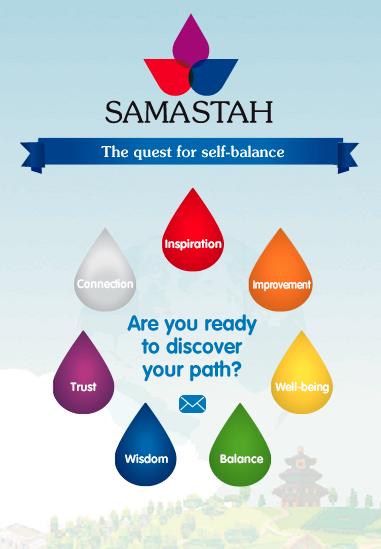 Samastah, la startup que quiere ayudarnos a encontrar la felicidad