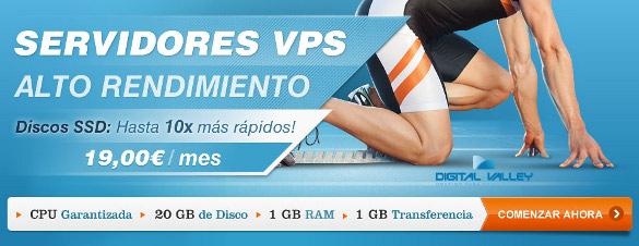 Servidores alto rendimiento VPS SSD
