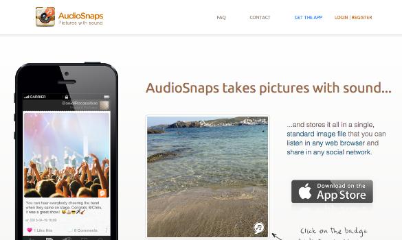 AudioSnaps y las fotos con sonido