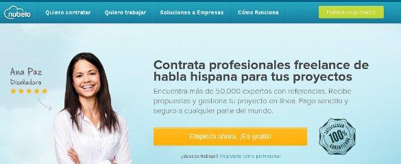 Nubelo, trabajo freelance de calidad para tu empresa