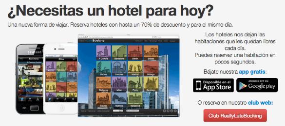 Hot.es se queda con su competidor ReallyLateBooking