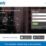 Instaply, el WhatsApp del comercio, añade contactos profesionales
