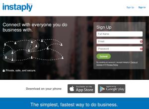 Instaply, aplicación de mensajería para comercios y tiendas, disponible en Android e iOS