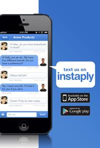 Descargar Instaply, menajería para smartphones