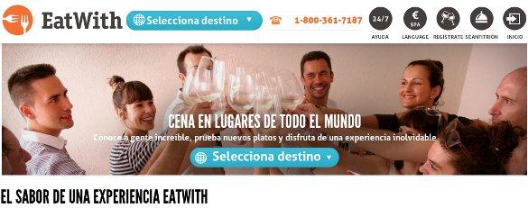 EatWith llega a España