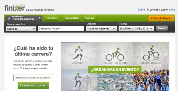 Finixer, la comunidad online para los que compiten en carreras