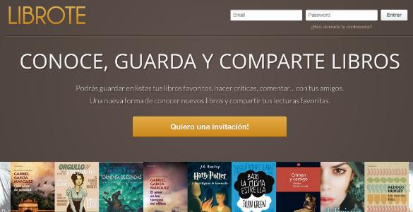 Librote, nueva red social sobre libros