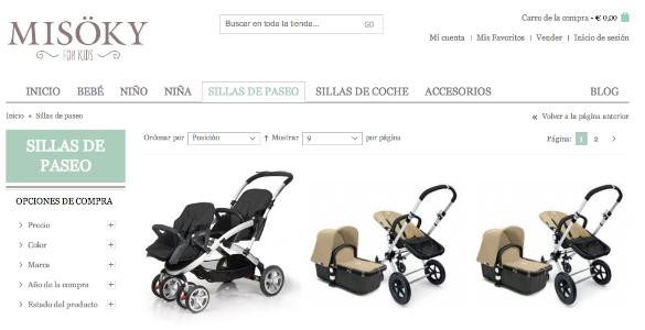 Misoky, marketplace online para comprar y vender productos infantiles de calidad