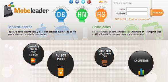 Mobeleader desarrolla tecnología de marketing de resultados para apps