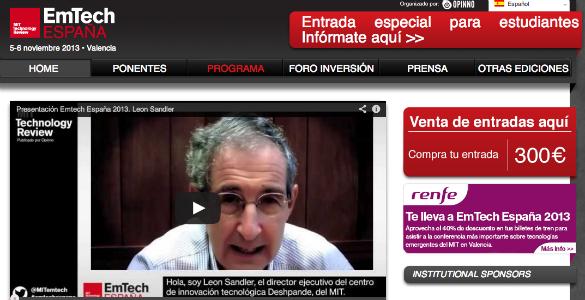 EmTech España celebra la tercera edición de su evento sobre innovación tecnológica
