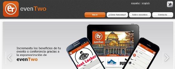 evenTwo, la app móvil para tus eventos