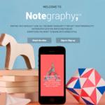 Notegraphy, una app que dará de qué hablar