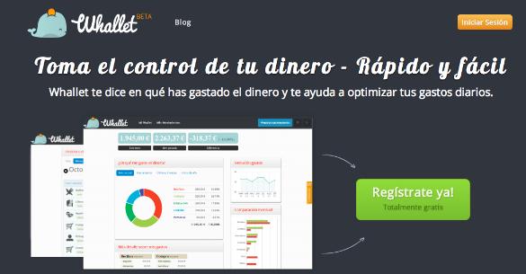 Whallet una app que nos ayuda a gestionar mejor nuestras finanzas personales