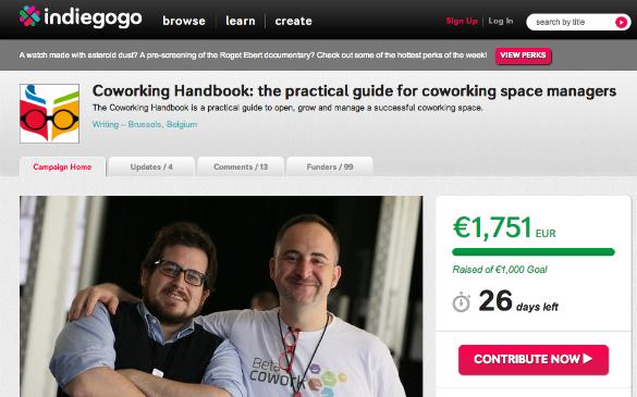 Coworking Handbook, el manual definitivo para los gestores de espacios de coworking