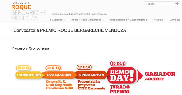 La fundación Roque Bergareche crea un premio para emprendedores con 40.000 euros para el ganador